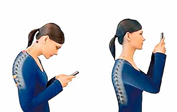 Corregir postura de la espalda