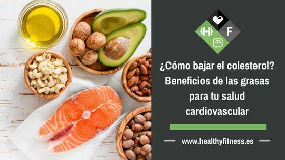 ¿Cómo bajar el colesterol? Beneficios de las grasas para tu salud cardiovascular
