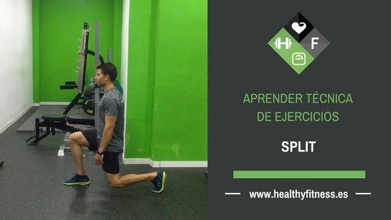 Zancadas estáticas – Ejercicio de pierna para entrenar en casa