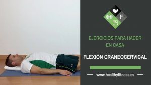 flexion craneo cervical