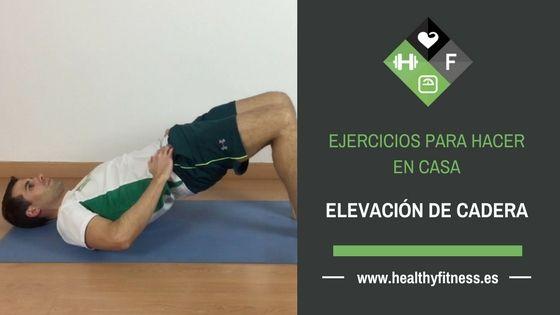 Elevación de Cadera – Ejercicio para glúteos y piernas