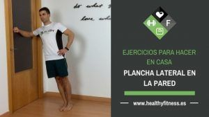 plancha lateral en pared