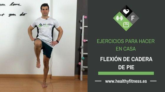Flexión de cadera de pie – Ejercicio para entrenar las piernas