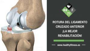rehabilitación ligamento cruzado anterior