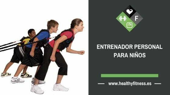 entrenador personal para niños