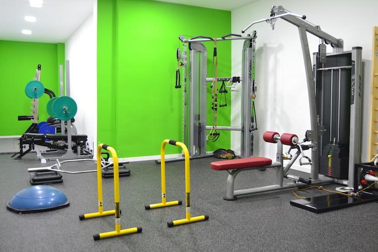sala 2 entrenamiento personal madrid