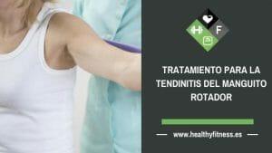 tendinitis manguito rotador tratamiento