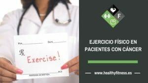 ejercicio fisico para personas con cancer