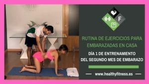 ejercicios para embarazadas de 2 meses