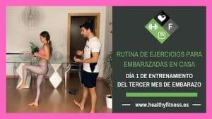 ejercicios para embarazadas de 3 meses