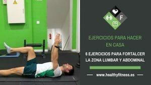 ejercicios para fortalecer la zona lumbar y abdominal