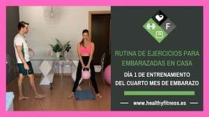 ejercicios para embarazadas de 4 meses en casa