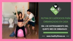 ejercicios para embarazadas de 5 meses en casa