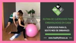 ejercicios para embarazadas de 6 meses