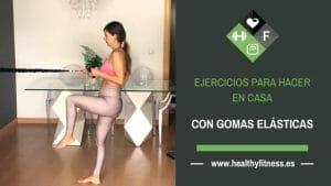 ejercicios en casa con ligas